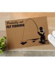 "Fly Fishing Doormat 34"" x 23"" aos-doormat-34-x-23-lifestyle-front-11"