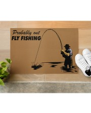 "Fly Fishing Doormat 34"" x 23"" aos-doormat-34-x-23-lifestyle-front-12"