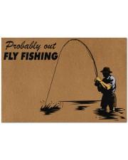 """Fly Fishing Doormat 34"""" x 23"""" front"""