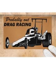"""Drag Racing Doormat Doormat 34"""" x 23"""" aos-doormat-34-x-23-lifestyle-front-05"""