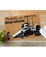 """Drag Racing Doormat Doormat 34"""" x 23"""" aos-doormat-34-x-23-lifestyle-front-11"""