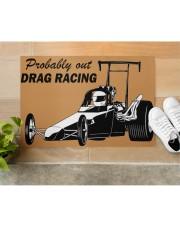 """Drag Racing Doormat Doormat 34"""" x 23"""" aos-doormat-34-x-23-lifestyle-front-12"""