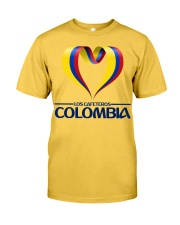 Team LOS CAFETEROS Colombia Classic T-Shirt front