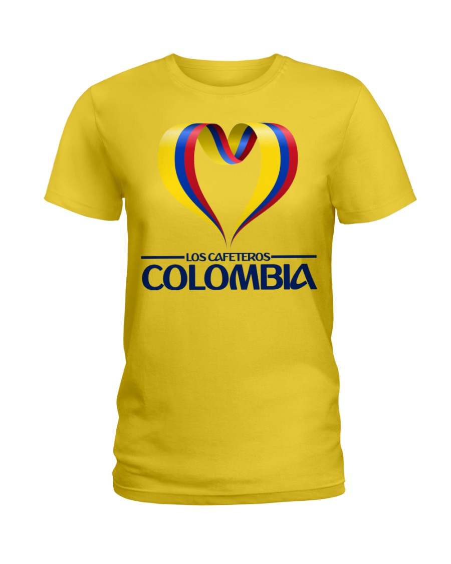 Team LOS CAFETEROS Colombia Ladies T-Shirt