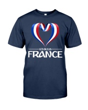 Team -Les Bleus- France Classic T-Shirt thumbnail