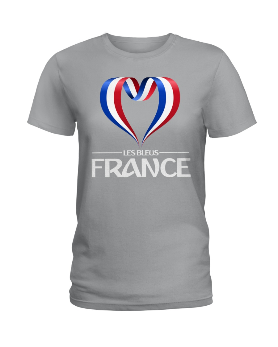 Team -Les Bleus- France Ladies T-Shirt