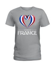 Team -Les Bleus- France Ladies T-Shirt front