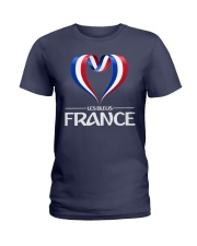 Team -Les Bleus- France Ladies T-Shirt thumbnail