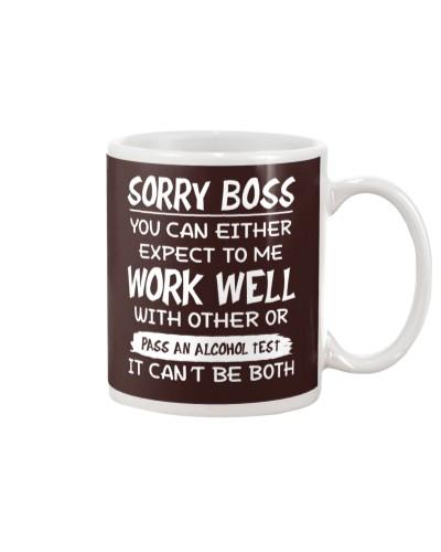 Sorry Boss