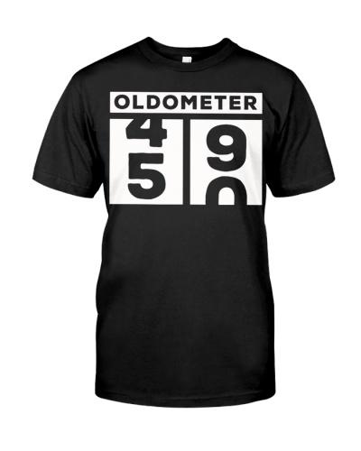 oldometer 50th birthday gift shirt