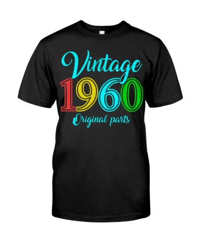 60 Years Old - Made in 1960 - Vintage 60th Birthda