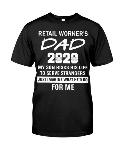 Retail worker's dad-son