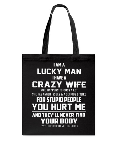 I'm a lucky Man-wife