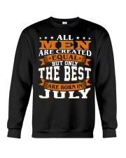 The best men are born in July Crewneck Sweatshirt thumbnail