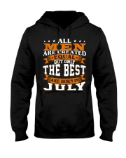 The best men are born in July Hooded Sweatshirt thumbnail