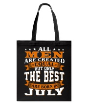 The best men are born in July Tote Bag thumbnail