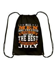 The best men are born in July Drawstring Bag thumbnail