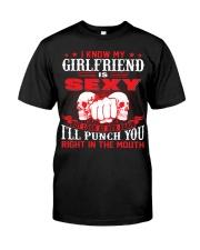 I know my girlfriend is sexy Premium Fit Mens Tee thumbnail
