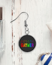Gaymer  Circle Earrings aos-earring-circle-front-lifestyle-1
