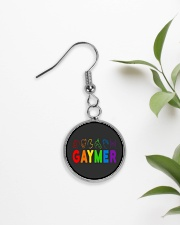 Gaymer  Circle Earrings aos-earring-circle-front-lifestyle-7