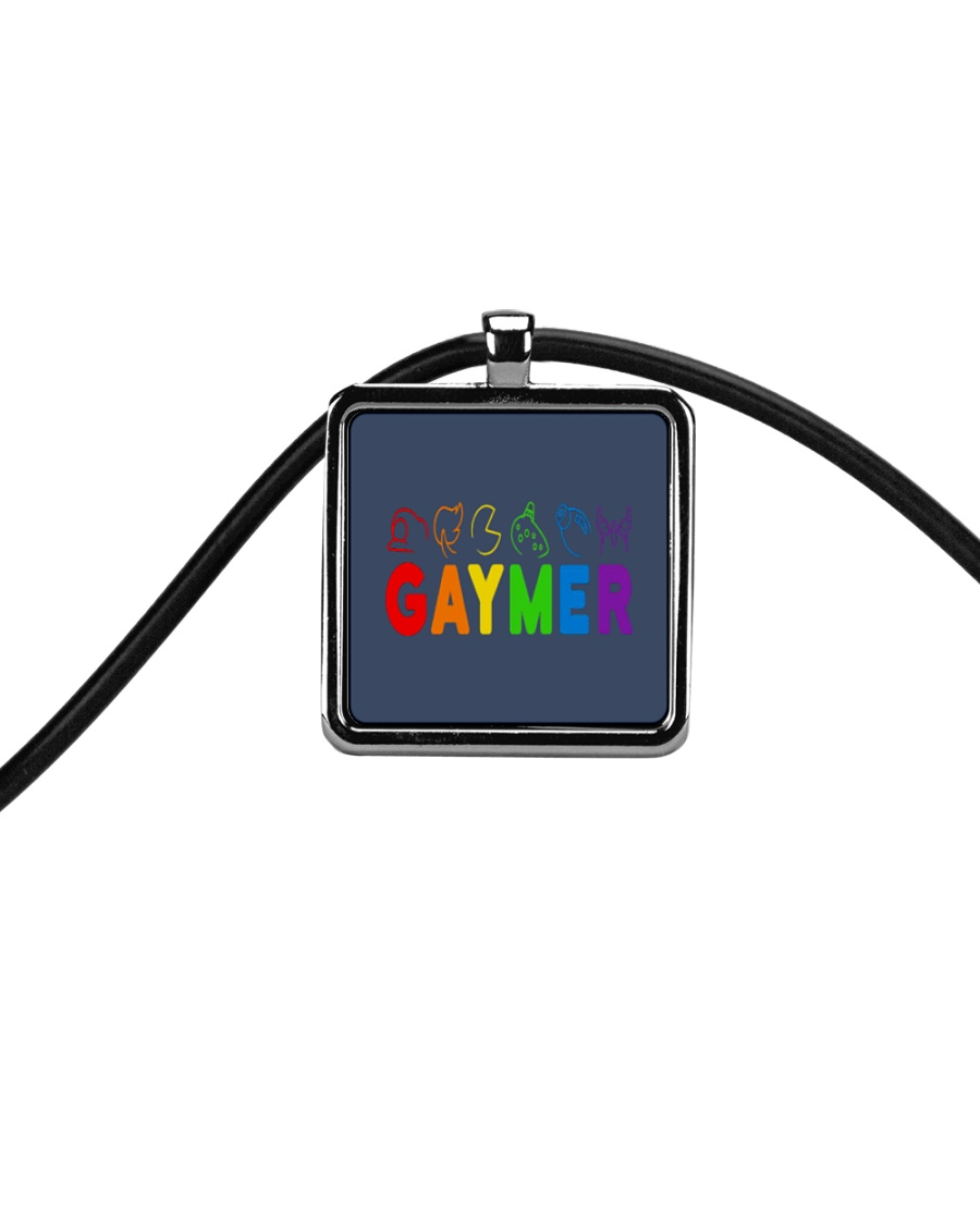 Gaymer  Cord Rectangle Necklace