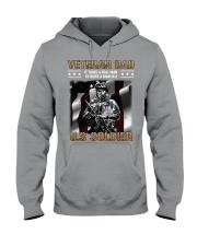 Veteran Dad - It Takes A Real Man Raise A Soldier Hooded Sweatshirt thumbnail