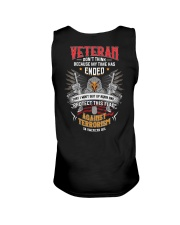 Dont Think Because My Time Ended I Protect US Flag Unisex Tank thumbnail