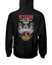 Dont Think Because My Time Ended I Protect US Flag Hooded Sweatshirt thumbnail