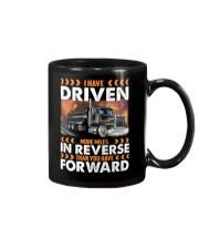 Dump Trucks Have Driven More Miles in Reverse Mug thumbnail