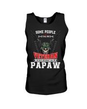 Call Me Veteran - Papaw Unisex Tank tile