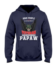 Call Me Veteran - Papaw Hooded Sweatshirt thumbnail
