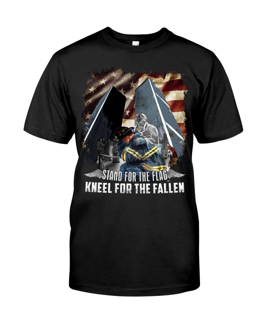 Firefighter - Twin Towers 09-11 New York Classic T-Shirt