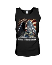 Firefighter - Twin Towers 09-11 New York Unisex Tank thumbnail