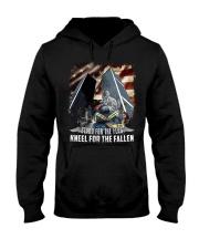 Firefighter - Twin Towers 09-11 New York Hooded Sweatshirt thumbnail