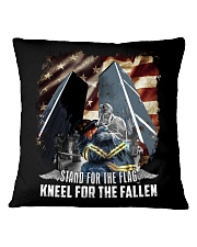 Firefighter - Twin Towers 09-11 New York Square Pillowcase thumbnail
