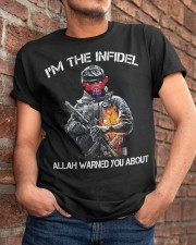 I'm The Infidel  Classic T-Shirt apparel-classic-tshirt-lifestyle-26