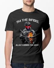 I'm The Infidel  Classic T-Shirt lifestyle-mens-crewneck-front-13
