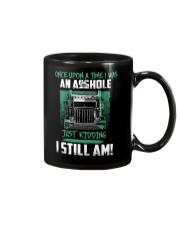 Once upon a time Trucker Mug thumbnail