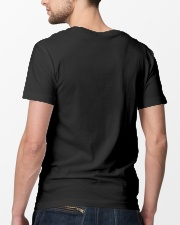 I Am A Dad Of Soldier  Classic T-Shirt lifestyle-mens-crewneck-back-5