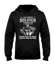 I Am A Dad Of Soldier  Hooded Sweatshirt tile