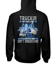 Trucker Clothes - Truckin isn't just a job Hooded Sweatshirt back