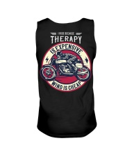 I Ride Because Therapy Is Expensive-Wind Is Cheap Unisex Tank thumbnail