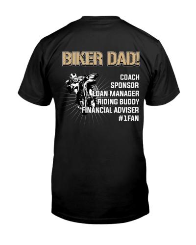 BIKER DAD COACH SPONSOR