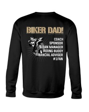 BIKER DAD COACH SPONSOR Crewneck Sweatshirt thumbnail