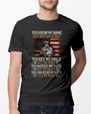 You Know My Name But Not My Story Classic T-Shirt lifestyle-mens-crewneck-front-13