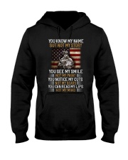 You Know My Name But Not My Story Hooded Sweatshirt thumbnail