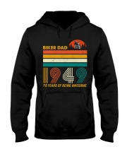 BIKER DAD 1949 - 70 Years old Hooded Sweatshirt thumbnail