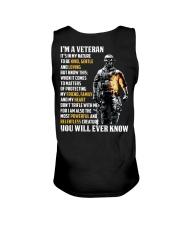I Am A Veteran It's In My Nature Unisex Tank thumbnail