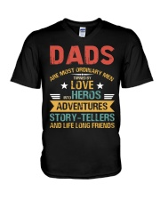 Dads Are Most Ordinary Men V-Neck T-Shirt thumbnail