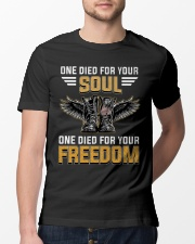 One For Your Soul One For Your Freedom Classic T-Shirt lifestyle-mens-crewneck-front-13